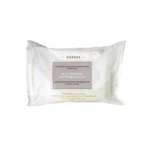 Очищ. салфетки для снятия макияжа для всех типов кожи молочные протеины (25 шт.)