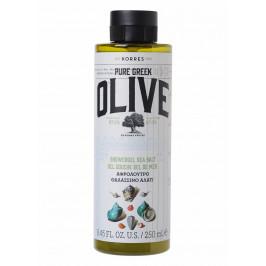 GREEK OLIVE гель для душа Олива и Морская Соль